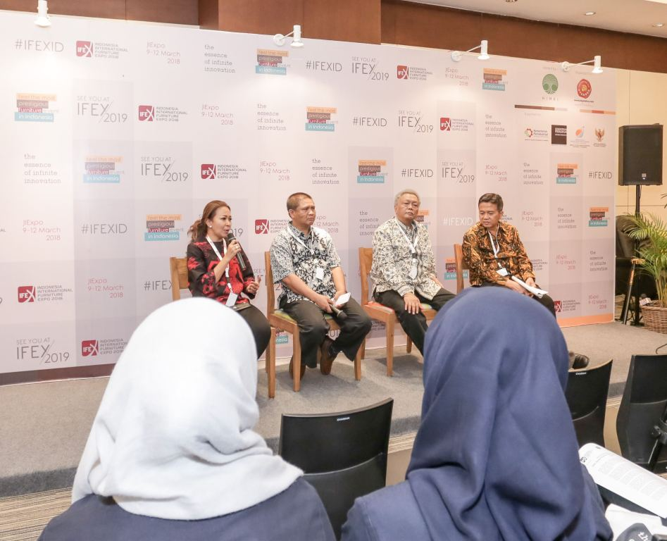 Indonesia International Furniture Expo 2018: HIMKI: Indonesia Perlu Pusat R&D  Furnitur dan Kerajinan