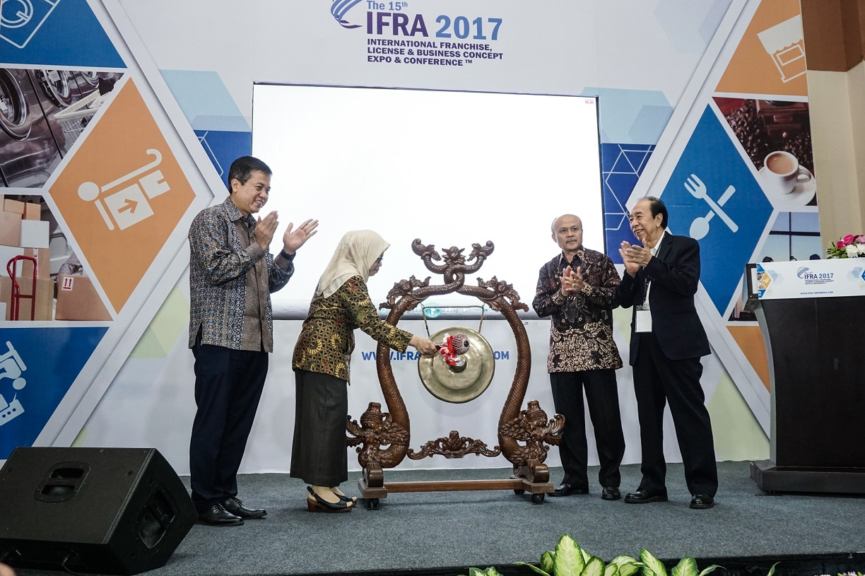 International Franchise, License & Business Concept Expo & Conference 2017 AFI Ajak Masyarakat Berani Jadi Pengusaha