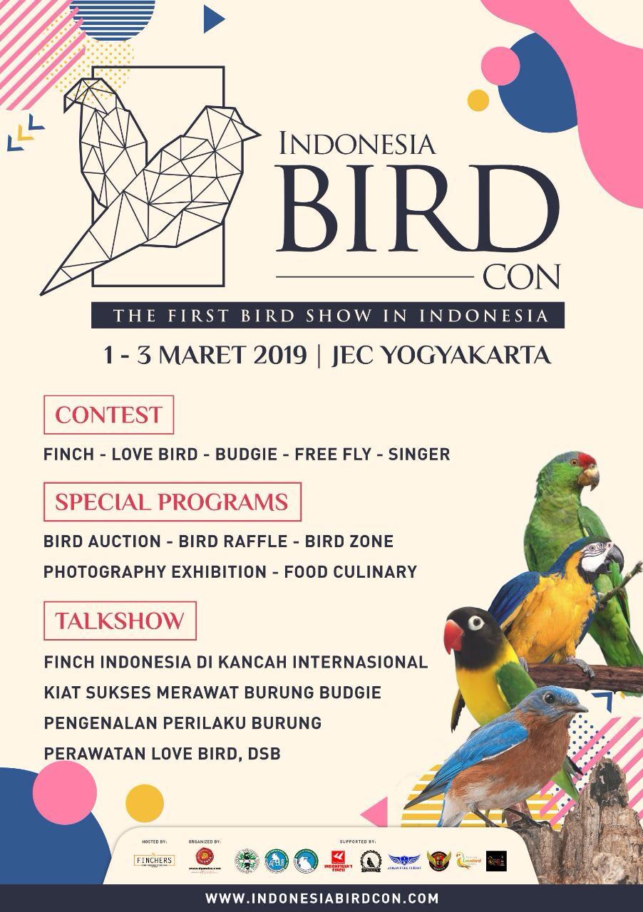 Indonesia Bird Con 2019: Wadah Investasi, Sarana Edukasi dan Tujuan Rekreasi