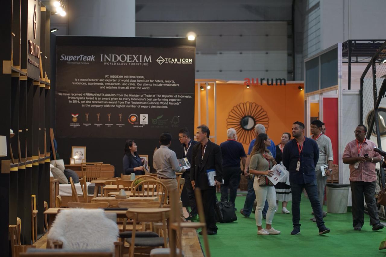 Indonesia International Furniture Expo (IFEX) 2019 HIMKI Butuh Peran Lebih Pemerintah  Untuk Industri Furnitur dan Kerajinan