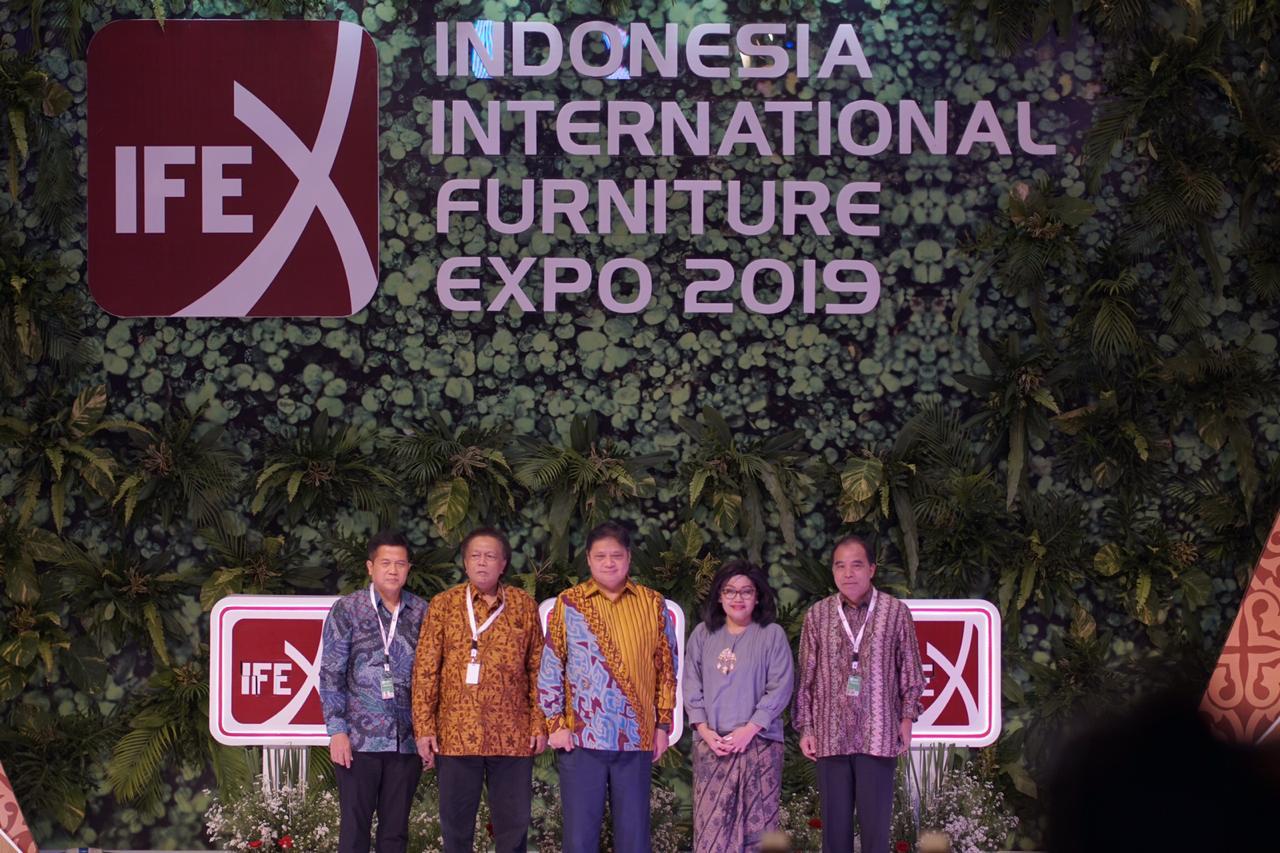 Indonesia International Furniture Expo (IFEX) 2019 Perbesar  Peluang Pasar Industri Furnitur  dan Peningkatan Daya Saing