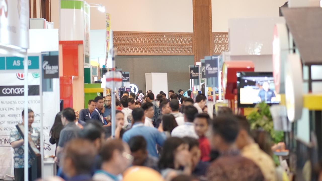 International Franchise, License & Business Concept Expo & Conference 2019 Industri Waralaba Targetkan Pertumbuhan Positif