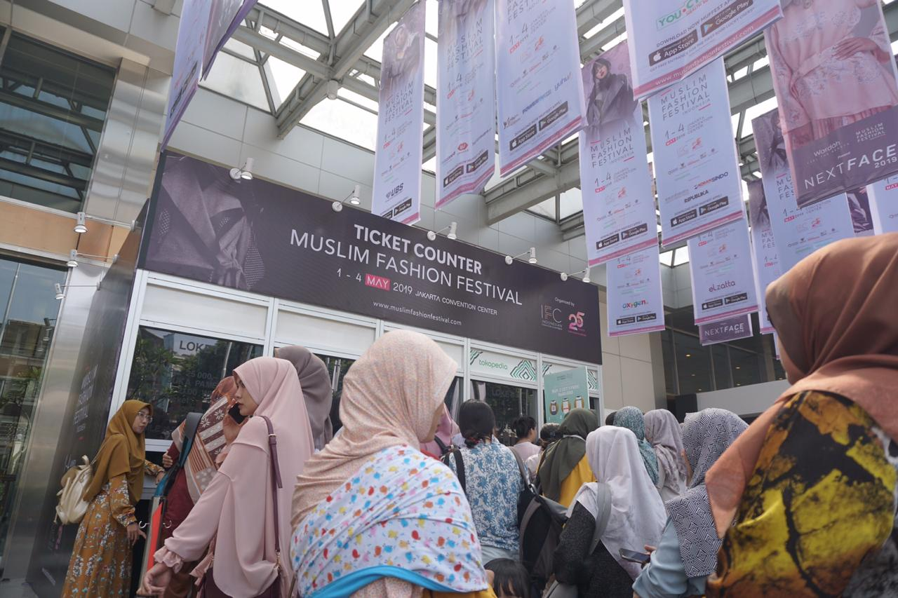 Muslim Fashion Festival (MUFFEST) Indonesia 2019 Perkuat Pasar Busana Muslim di Tanah Air