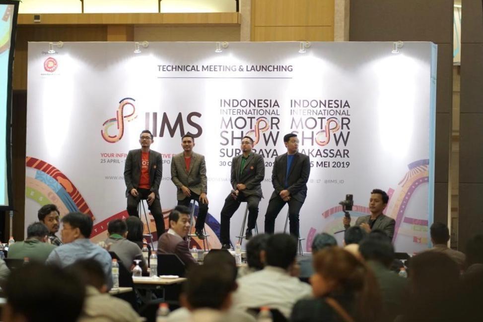"""Indonesia International Motor Show (IIMS) 2019 """"Spirit Perubahan Zaman, Mengantar IIMS 2019 ke Level Lebih Tinggi"""""""