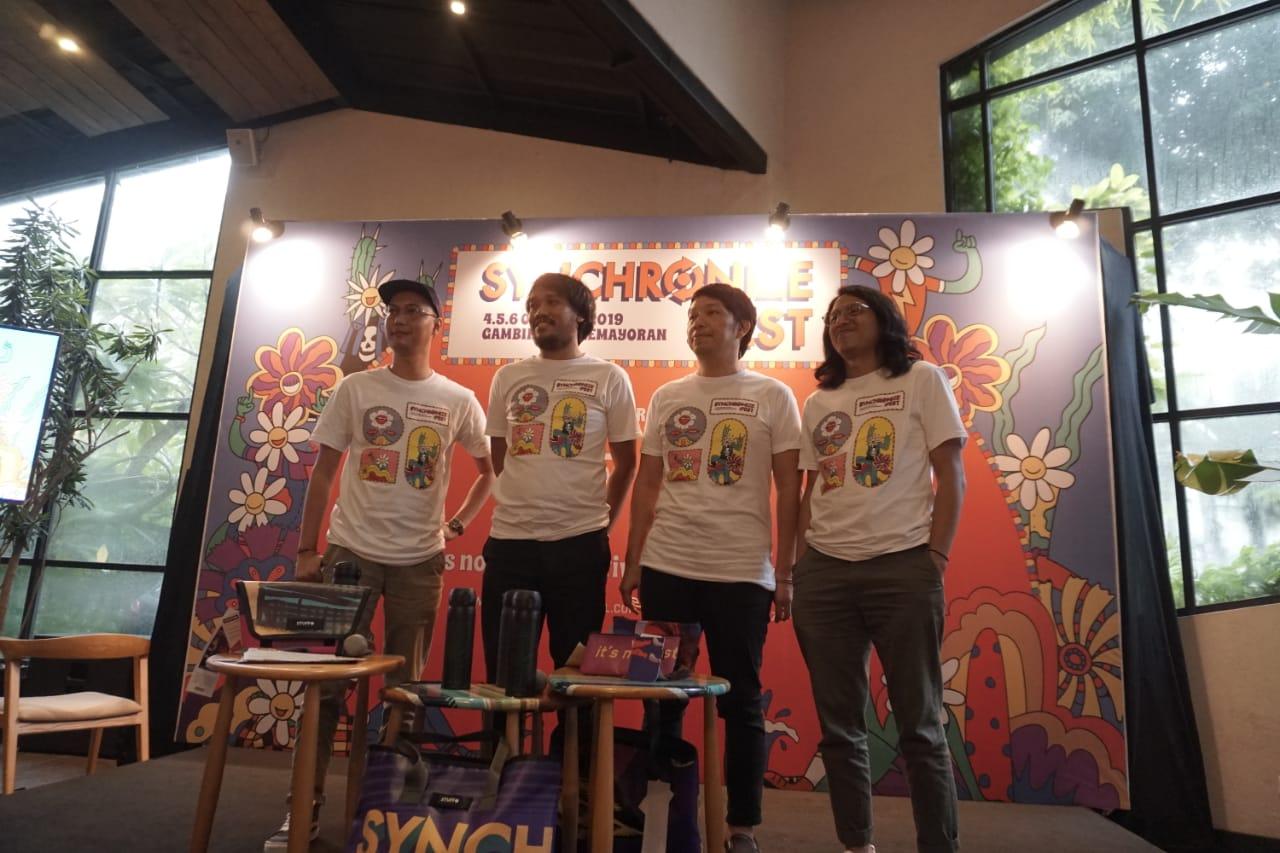 Synchronize Fest 2019 : Tujuh Ribu Tiket Early Bird dan Presale 1 Habis Dalam 24 Jam
