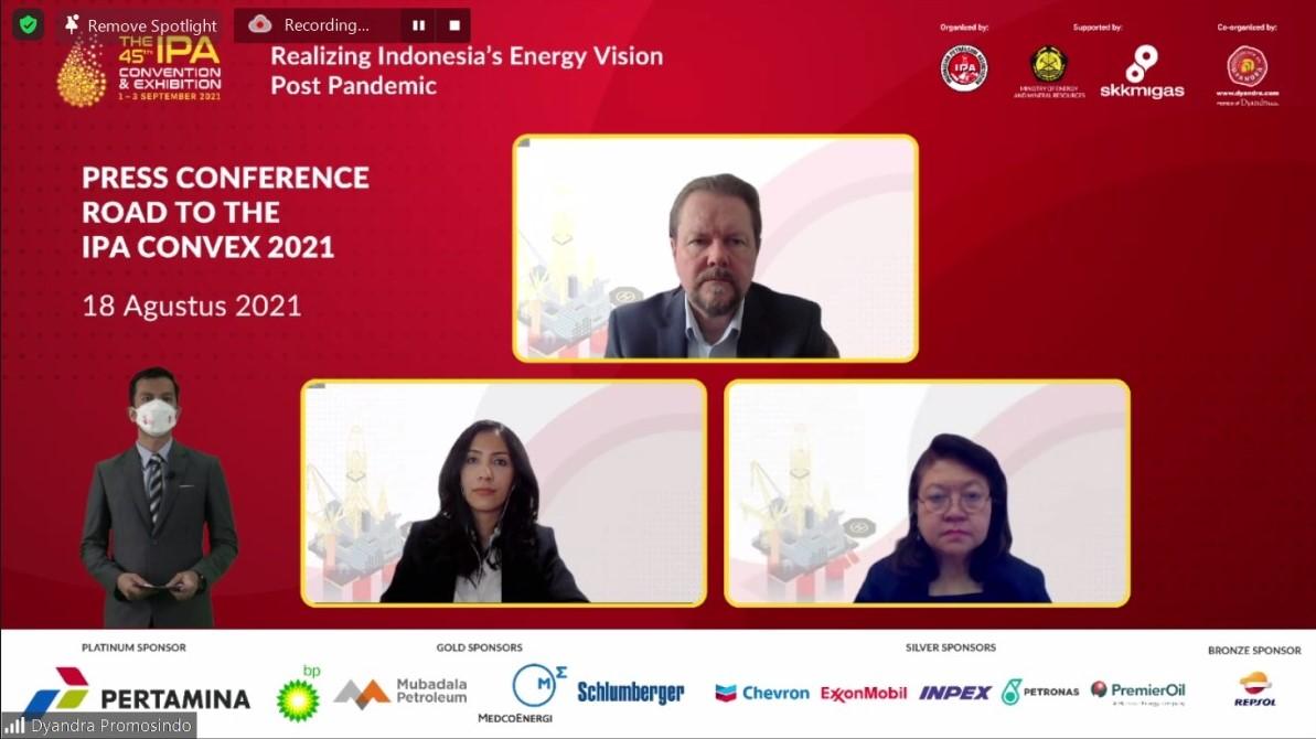 IPA Convex 2021 Digelar Virtual, Tekankan Visi Energi Indonesia di Masa Depan