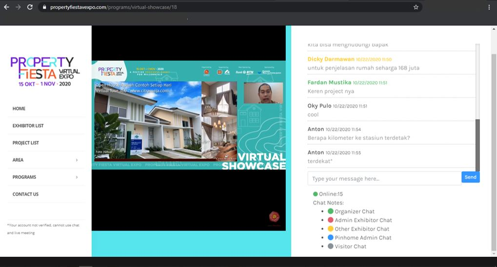 Property Fiesta Virtual Expo 2020 : Transaksi Mudah di Property Fiesta Virtual Expo 2020, Berhadiah Logam Mulia