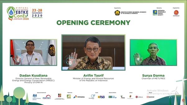 The 9th Indonesia EBTKE Virtual Conference and Exhibition 2020 : Dukung Pemanfaatan Energi Terbarukan dan Konservasi Energi Untuk Ketahanan Energi Nasional